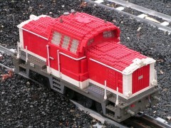 LegoLand Miniland large scaled trains