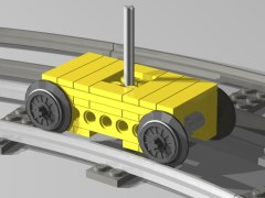 Small train bogie